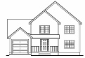 Colonial House Plan 1,5010 sf